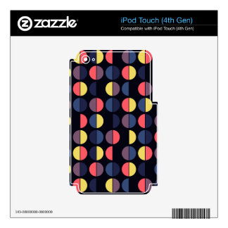 Colorful Polka Dot Seamless Pattern iPod Touch 4G Skin