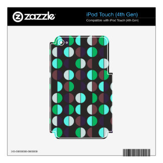 Colorful Polka Dot Seamless Pattern iPod Touch 4G Decals