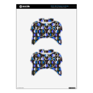 Colorful Polka Dot Seamless Pattern Xbox 360 Controller Skins