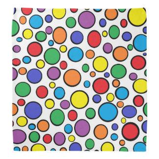 Colorful Polka Dots Bandana
