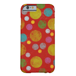 colorful polka dots barely there iPhone 6 case
