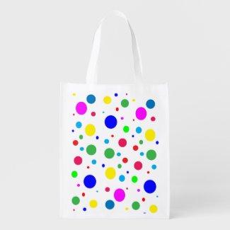 Colorful Polka Dots Bubbles Balloons
