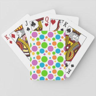 Colorful Polka Dots Card Deck