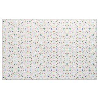 Colorful Polka Dots Geometric Pattern Fabric