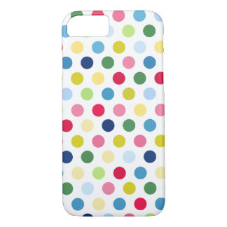Colorful polka dots iPhone 8/7 case