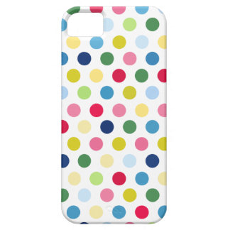 Colorful polka dots iPhone SE/5/5s case