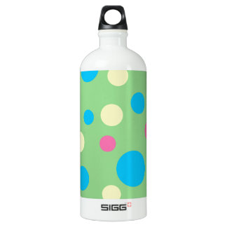 Colorful polka dots pattern SIGG traveler 1.0L water bottle