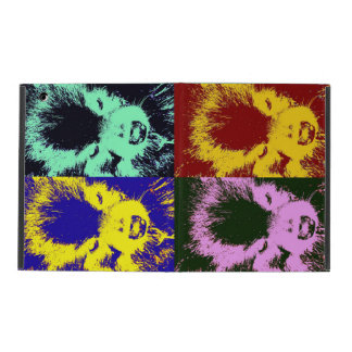 Colorful Pom. iPad Folio Case