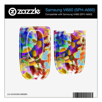 Colorful Pond Samsung VI660 Decals