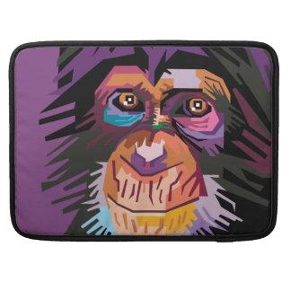 Colorful Pop Art Monkey Portrait MacBook Pro Sleeve