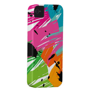 Colorful Pop Grunge Funky Art iPhone 4 CaseMate iPhone 4 Case