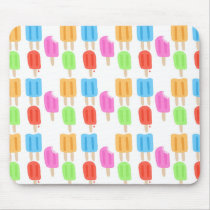 Colorful Popsicle Pattern Mouse Pad