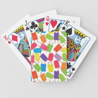 Colorful Popsicles Card Decks
