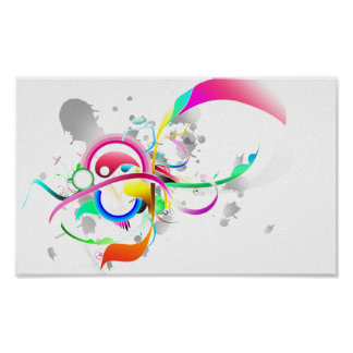 Colorful post card tape product for sale print