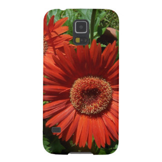 Colorful Potted Orange Flowers Galaxy S5 Cover