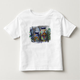 Colorful pottery for sale in downtown Loreto, Toddler T-shirt