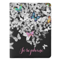colorful pretty butterflies journal