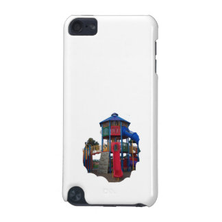 Colorful Primary Colored Slides Playground Equipme iPod Touch 5G Cases