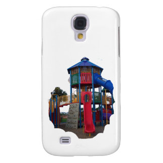 Colorful Primary Colored Slides Playground Equipme Galaxy S4 Case