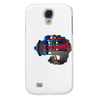Colorful Primary Colored Slides Playground Equipme Galaxy S4 Covers