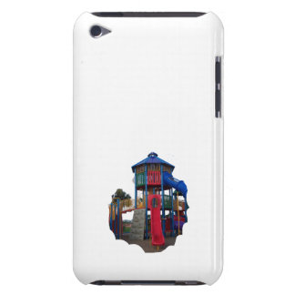 Colorful Primary Colored Slides Playground Equipme iPod Touch Cover