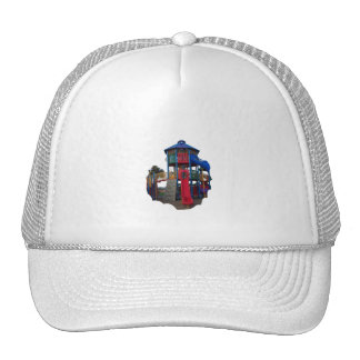 Colorful Primary Colored Slides Playground Equipme Trucker Hats