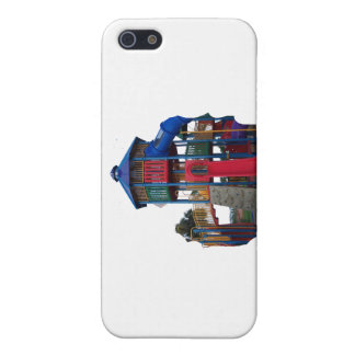 Colorful Primary Colored Slides Playground Equipme iPhone 5 Cases