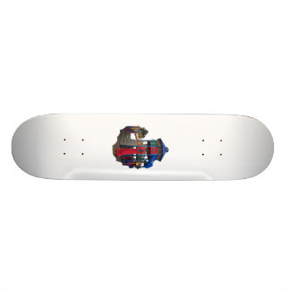 Colorful Primary Colored Slides Playground Equipme Skate Board Decks