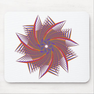 colorful prismatic chromatic mouse pad