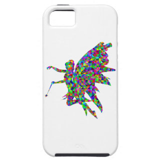 Colorful Prismatic Fairy Holding Out a Wand iPhone SE/5/5s Case