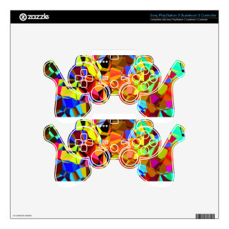 Colorful PS3 Controller Decals