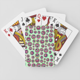 Colorful Psych Spots + your background & idea Poker Cards