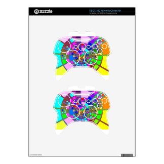 Colorful psychedelic #2 xbox 360 controller skin