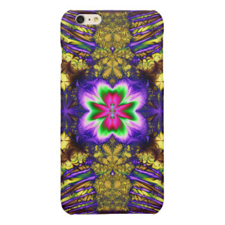 Colorful Psychedelic Glossy iPhone 6 Plus Case
