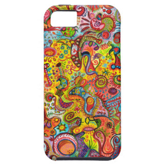 Colorful Psychedelic iPhone 5 Barely There Case iPhone 5 Case