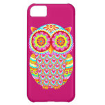 Colorful Psychedelic Owl Abstract iPhone 5C Case