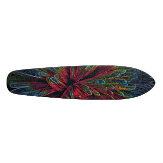 Colorful Psychedelic Pattern for SK8ERS Skateboard