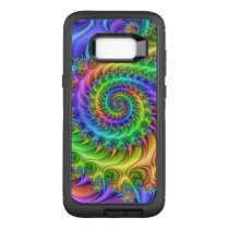 Colorful Psychedelic Pattern OtterBox Defender Samsung Galaxy S8  Case