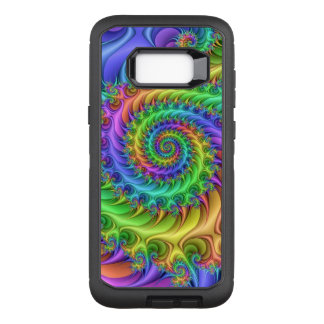 Colorful Psychedelic Pattern OtterBox Defender Samsung Galaxy S8+ Case