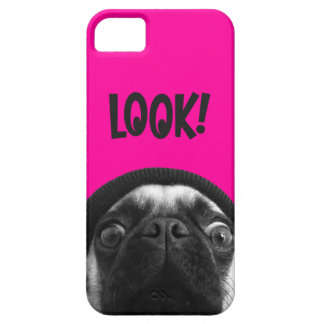 Colorful Pug iPhone 5 Case