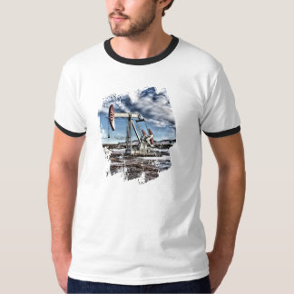 Colorful Pumpjack Image T-Shirt