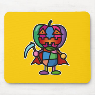 colorful pumpkin mouse pad