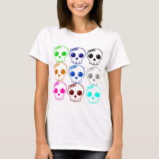 Colorful Punk Skulls T-shirt