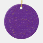 Colorful Purple Ornament