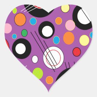 Colorful Purple Sticker