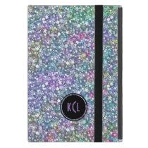 Colorful Purple Tint Glitter And Sparkles iPad Mini Case