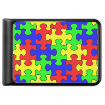 Colorful Puzzle Power Bank