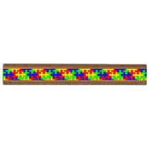 Colorful Puzzle Ruler