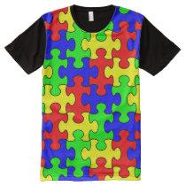 Colorful Puzzle Shirt