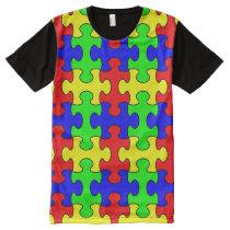 Colorful Puzzle Shirt - version 2